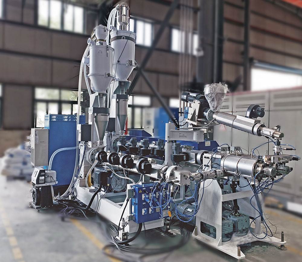 LSDP-32PPR Two-layer Double-pipe Production Line