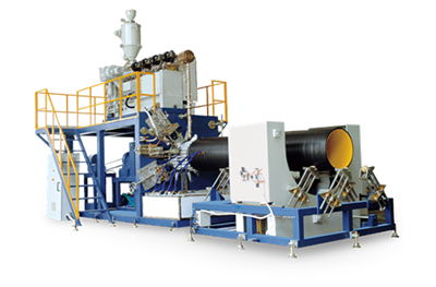 HDPE Double Wall Spiral Pipe Production Line