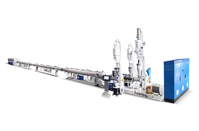 110mm HDPE Three Layer Pipe Production Line
