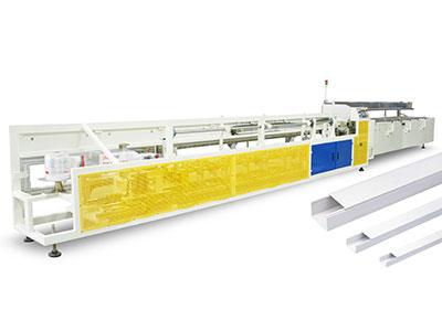 Automatic Bundling & Bagging machine for PVC Trunking