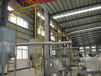Powder Central Control Automatic Mixing And Feeding System Project