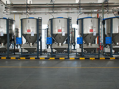 Centralized Auto Feeding System For Granules