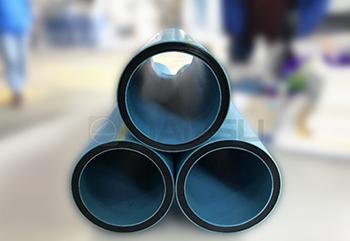 3 Layer Coextrusion HDPE Pressure Pipe Line