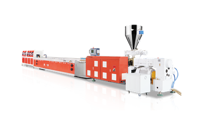 LS-PVC Window Profile Production Line