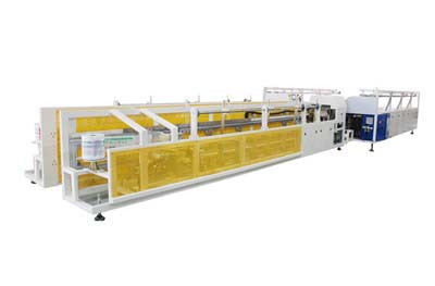 LS-PVC Trunking On-line Bundling & Bagging Machine
