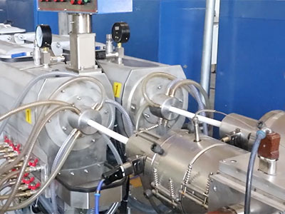 LSDP-75 PVC Dual Pipe Production Line