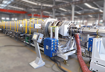 LSP- 800PE Solid Pipe Production Line