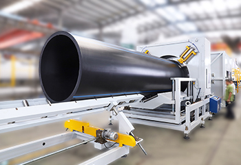 LSP-1600 HDPE Pipe Extrusion Line